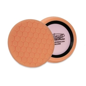 "Adam's Polishes - D/A 7.5"" Fine Machine Polish Pad : Orange"