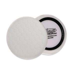 "Adam's Polishes - D/A 7.5"" Fine Machine Polish Pad : White"
