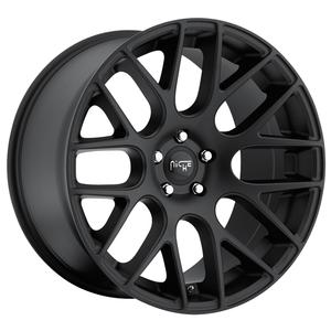 "2010-2011 Camaro Wheels - Niche ""Circuit"" - Matte Black (Set) : 20x8.5/20x10.5"