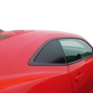2010-2015 Camaro Static Cling Side Window Blackouts 2 Pc.