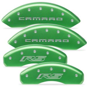 2010-2015 Camaro Color Matched Caliper Covers LT/LS Model (Non Brembo Brakes)  - Camaro & RS Script