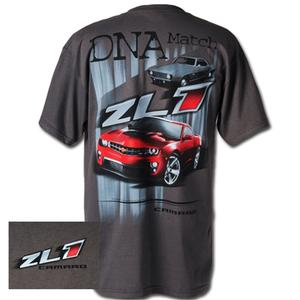 "2010 Camaro T-Shirt - ""DNA Match ZL1 Camaro"" : Grey"