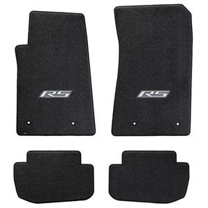 2010-2015 Camaro RS Floor Mats 4 Pc. Set (Silver Logo)