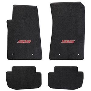 2010-2015 Camaro SS Floor Mats 4 Pc. Set (Red Logo)