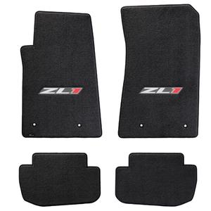 2012-2015 Camaro Floor Mats 4 Pc. Set - ZL1  Logo