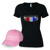 Camaro Womens Apparel