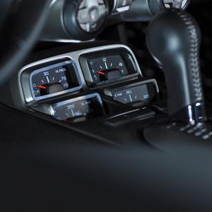 2010-2012 Camaro - Gauge Cluster Trim - Polished 4 pc.