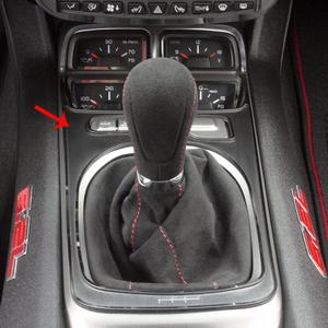 2010-2015 Camaro - 6 Spd w/Gauge Cluster Shifter Plate V8 - Brushed