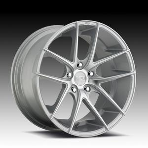 "2010-2012 Camaro Wheels - Niche ""Targa Sport Series"" - Silver Machined (Set of 4) :RS & SS Sizes"