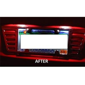 Camaro Licence Plate Led Lights
