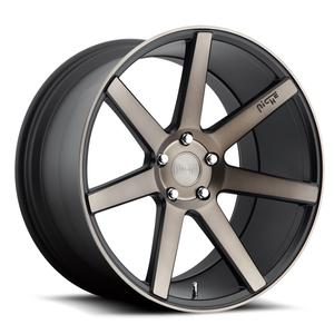 "2010-2014 Camaro Wheels - Niche ""Verona"" - Black/Machined DDT (Set of 4) :RS & SS Sizes"