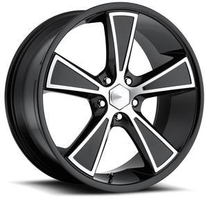 "2010-2014 Camaro Wheels - Ultra ""431 Hustler"" - Gloss Black w/Diamond Cut Accents (Set of 4) :RS & SS Sizes"