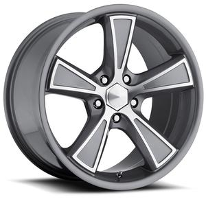 "2010-2014 Camaro Wheels - Ultra ""431 Hustler"" - Anthracite Grey w/Diamond Cut Accents (Set of 4) :RS & SS Sizes"