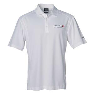 Camaro ZL1 Polo - Nike Dri-Fit : White