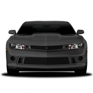 2014-2015 Camaro GT Corsa Primary Grille Upper - Black w/Brushed Accent Trim
