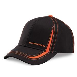 Camaro Contrast Hat - Black/Orange