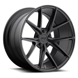 "2010-2014 Camaro Wheels - Niche ""Misano"" - Matte Black (Set of 4) : RS & SS Sizes"