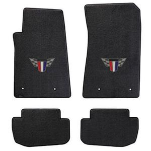 2015 Camaro Floor Mats 4 Pc. Set - 2015 Commemorative Edition Camaro Logo