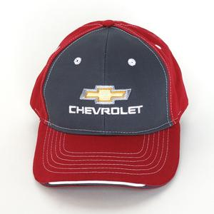 Chevrolet Gold Bowtie Embroidered Tri-Color Hat