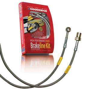 2010-2015 Camaro Goodridge G-Stop Brake Lines - Stainless Steel (Set) : V6 LS/LT