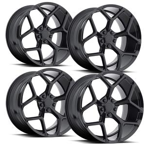 2010-2014 Camaro Wheels - GT Series M228 - Black (Set of 4) : RS & SS Sizes