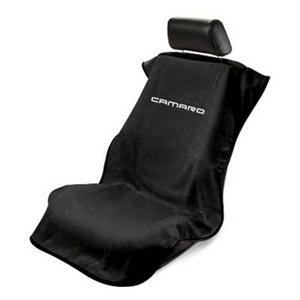 Camaro Seat Covers - Seat Armour - Black : 2010-2015