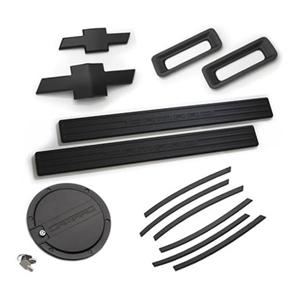 2010-13 Camaro LT Exterior Kit - Black   2010,2011,2012,2013