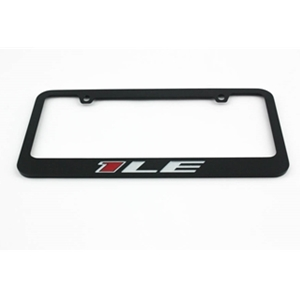 2013-2015 1LE Camaro License Frame - Black