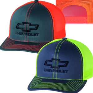 a6be40770bc Chevrolet Bowtie Neon Snapback Hat