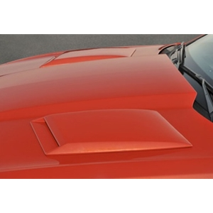 Camaro Hood Scoops with Inserts