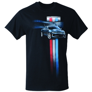 New Camaro Generation Racing Stripe T-Shirt