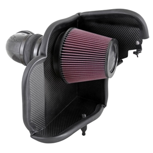 Camaro ZL1 K&N High-Flow Cold Air Intake System - Carbon Fiber