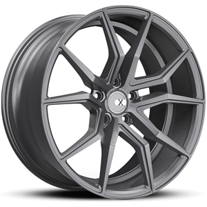 XO Luxury Verona X253 Wheels - Gunmetal