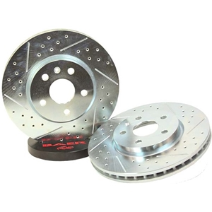 Camaro Rear Sport Rotors -Drilled/Slotted