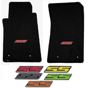 2010-2015 Camaro SS Floor Mats 2 Pc. Set (Color Choice)