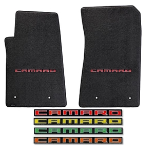 2010-2015 Camaro Floor Mats 2 Pc. Set (Color Options)