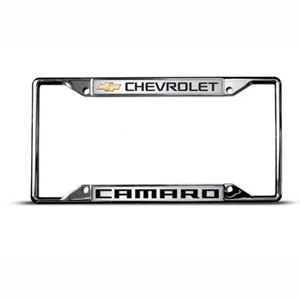 GM – LICENSE PLATE FRAME – CHEVROLET – CAMARO