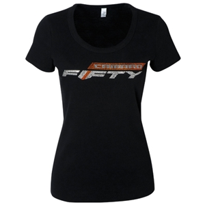 LADIES CAMARO FIFTY RHINESTONE TEE