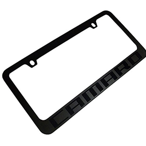 GM Camaro Ghost License Plate Frame