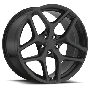 Z28 Camaro Reproduction Wheels - Matte Black