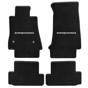 2016+ Camaro Floor Mats 4 Pc. Set (Camaro Script)