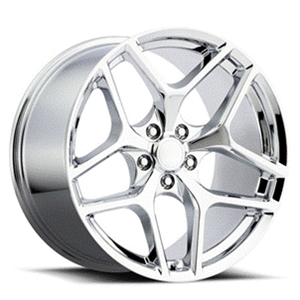 Z28 Camaro Reproduction Wheels - Chrome