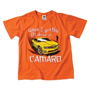 Camaro KIDS WHEN I GET BIG  T-Shirt