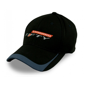 Camaro Fifty Logo Colorblock Hat - Black/Graphite