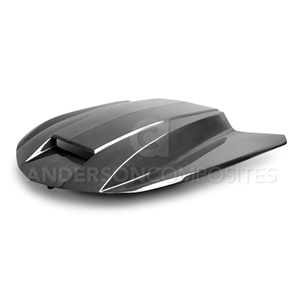 Camaro COPO Style TYPE-CP DOUBLE SIDED CARBON FIBER HOOD
