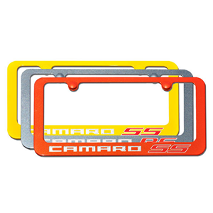 Camaro SS Exterior Color Matched License Plate Frame