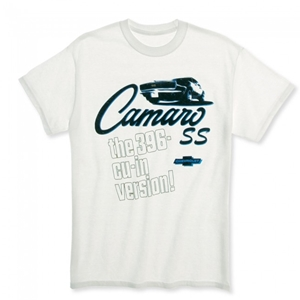 Camaro SS 396 Version T-shirt - White