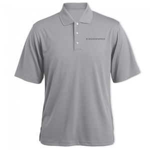 Camaro Signature Polo Shirt - Gray Heather