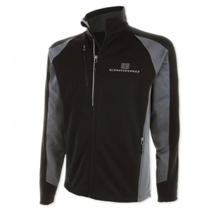 Camaro Full-Zip Performance Jacket - Black/Gray Storm