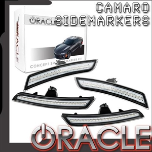 Camaro 2016+ Oracle Concept SMD Sidemarker set - Tinted Lens